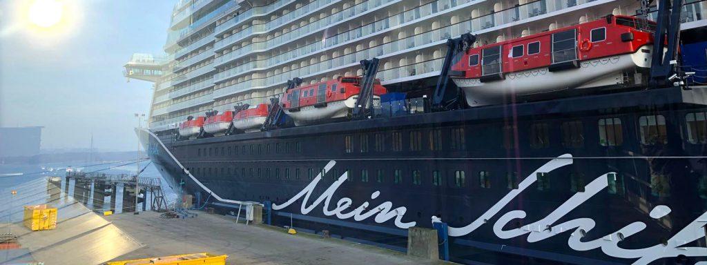 An Bord der neuen Mein Schiff 2