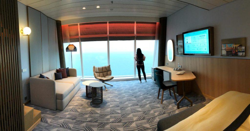Die Suite der neuen Mein Schiff 2