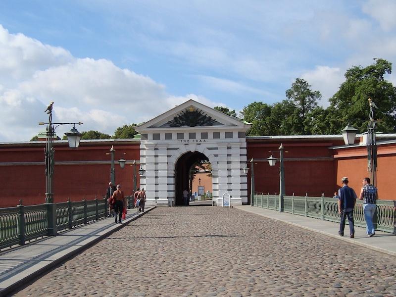 Peter und Paul Festung St. Petersburg