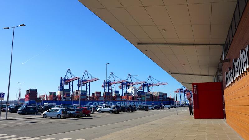Das Cruise Terminal Steinwerder in Hamburg