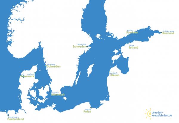 Karte Phönix Ostsee