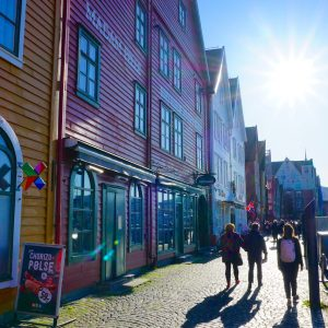 Bergen auf Norwegen